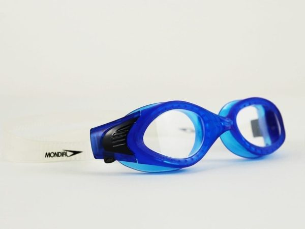 Swimming Goggles For Kids - Black/Blue From Mondial