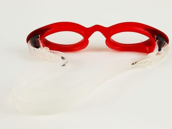Swimming Goggles - Red & Black From Mondial