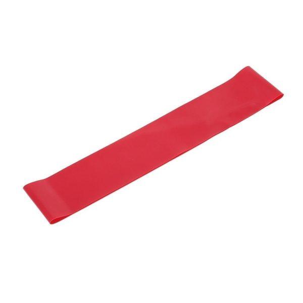 عصابات حزام اليوغا للمقاومة المطاطي - احمر