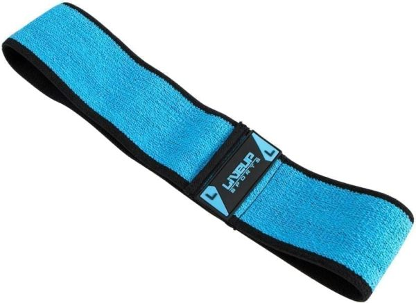 Hip Resistance Band For Exercise Liveup - Blue - Large
