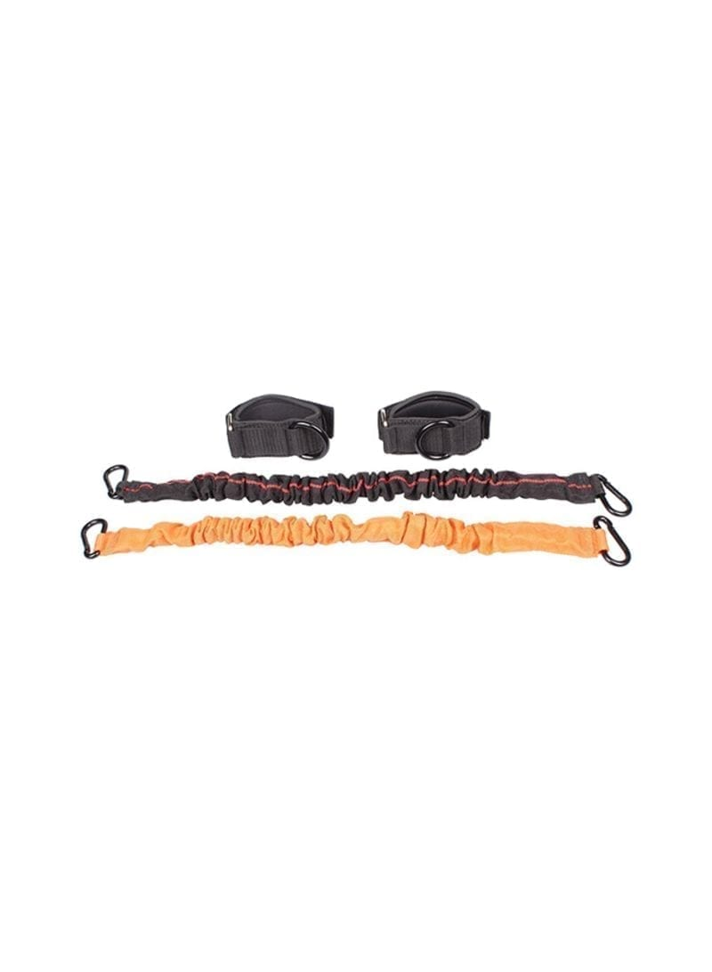 Lateral Resistance Bands - Liveup - Black And Orange