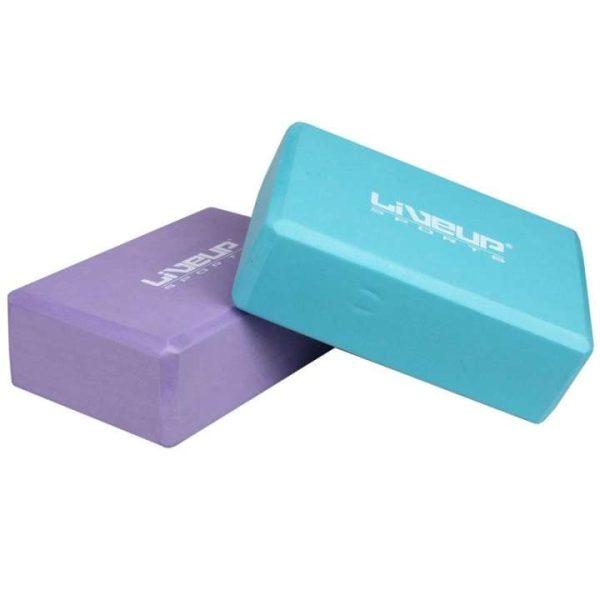 Yoga Block - Yoga Brick By Liveup - Colors