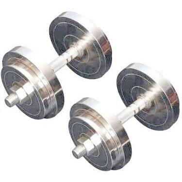 Weight Dumbbells Set Chrome – 15 KG – 2 Pieces