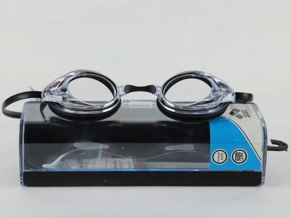 Arena Unisex Swim Goggles For Racing - Black