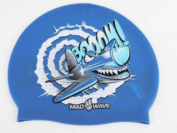 Swim Cap Crazy Flay From Made Wave - Printed