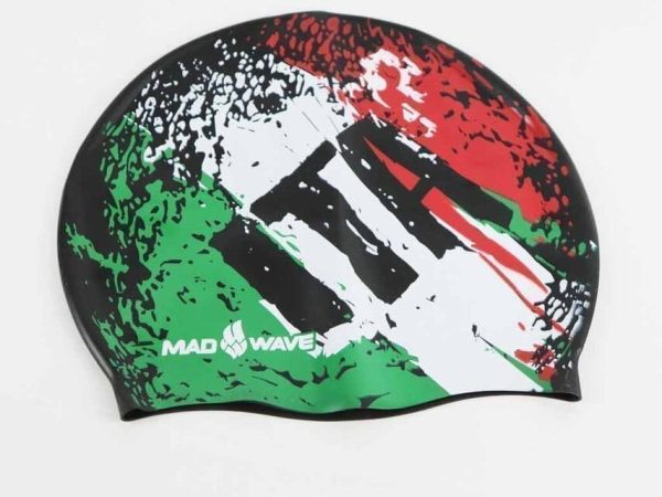 Swim Cap Italy from Made Wave - Muti Color