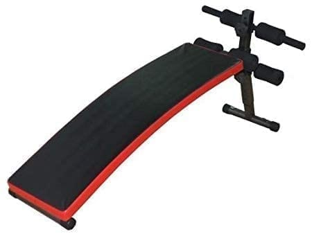Sit Up Bench with Reverse Crunch Handle for Ab Bench Exercises - Abdominal Exercise Equipment with 3 Adjustable Height Settings