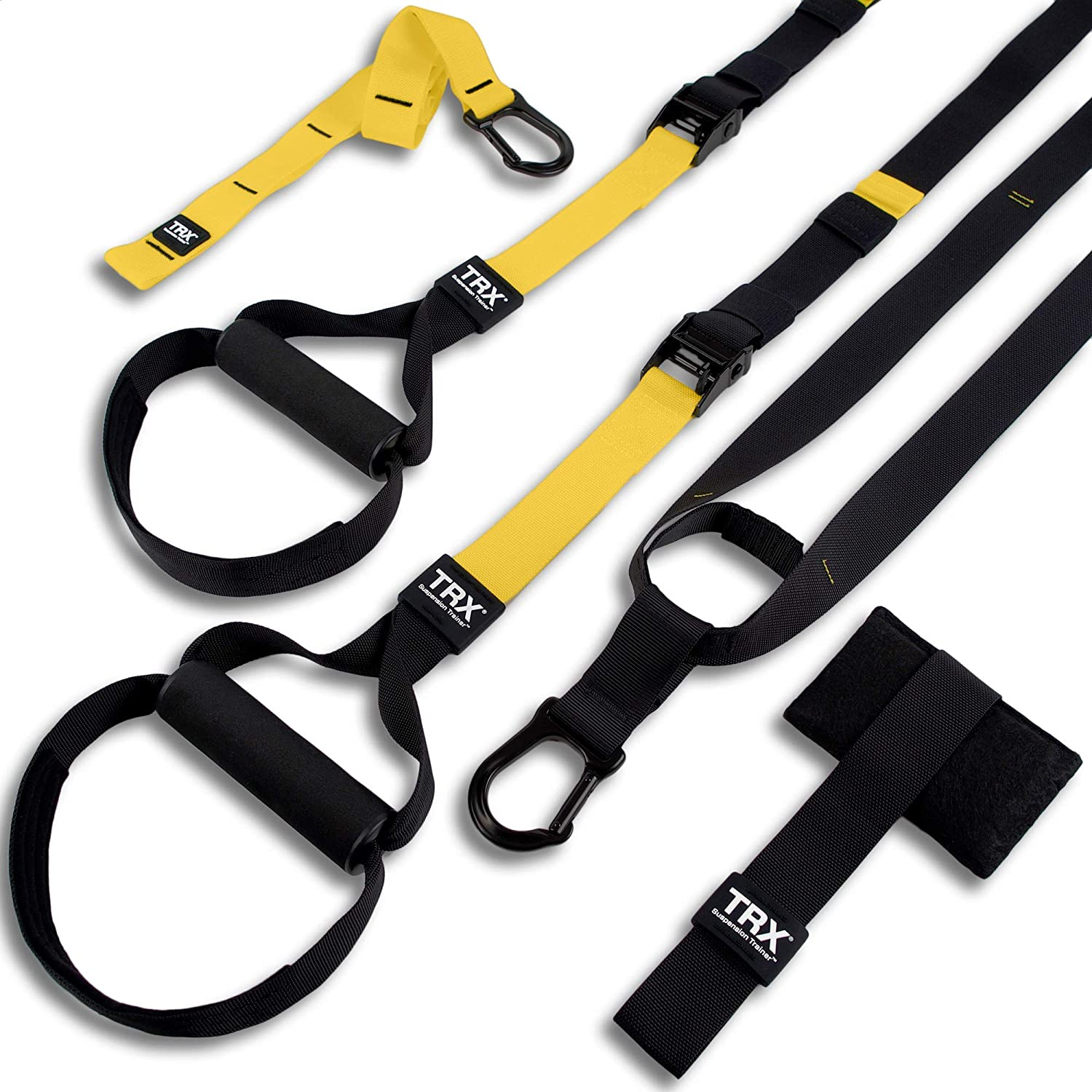 TRX All In One Suspension Rope - Bands Hanging Belt Tension Home Exerciser & Fitness Training