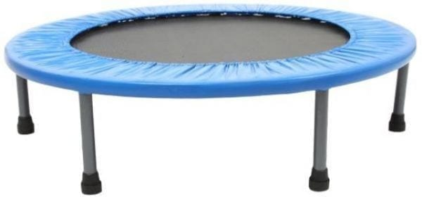 Trampoline Mini Exerciser 40 inch - workout trampoline - Trampoline for Kids - blue