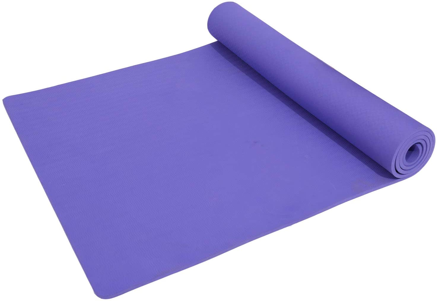 Yoga Mat - Exercise Mat - exercise mattress - 8 mm, purple
