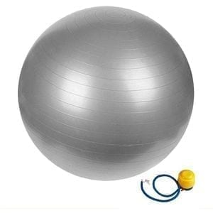 Large Yoga Ball - Balance Ball 85 cm - Silver