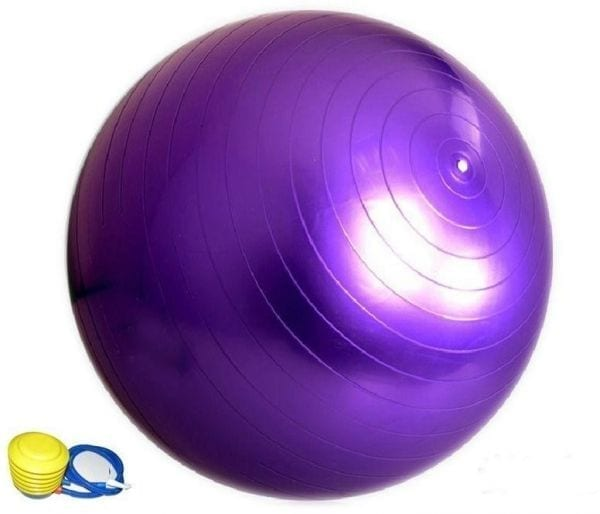 Balance Ball - Gym Ball 65 cm - Purple