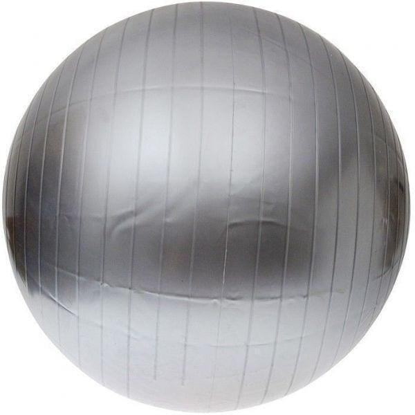 كرة التوازن - كرة اليوغا - كرة تمارين رياضية - 65 سم - فضي