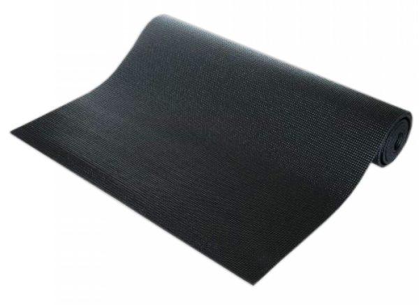 Exercise Mat - Yoga Mat - exercise mattress -6 mm, Black