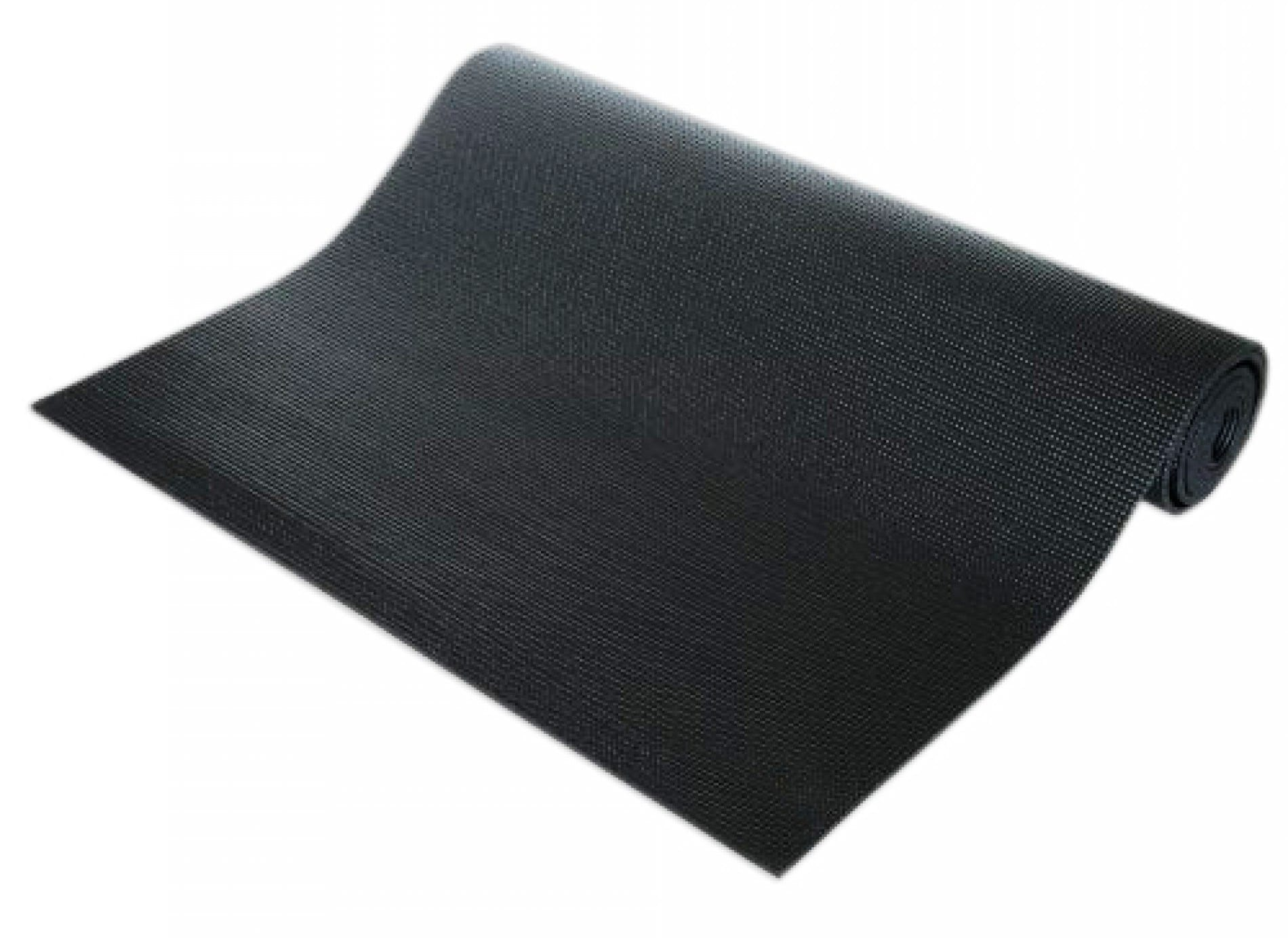 Exercise Mat - Yoga Mat - exercise mattress -6 mm, Black