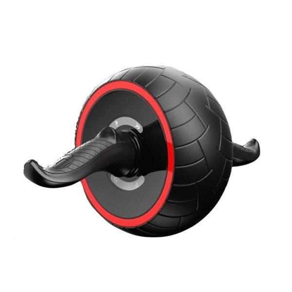 عجلة البطن أب كارفر برو - اب كارفر برون لتمارين البطن الرياضية – اسود + أحمر
