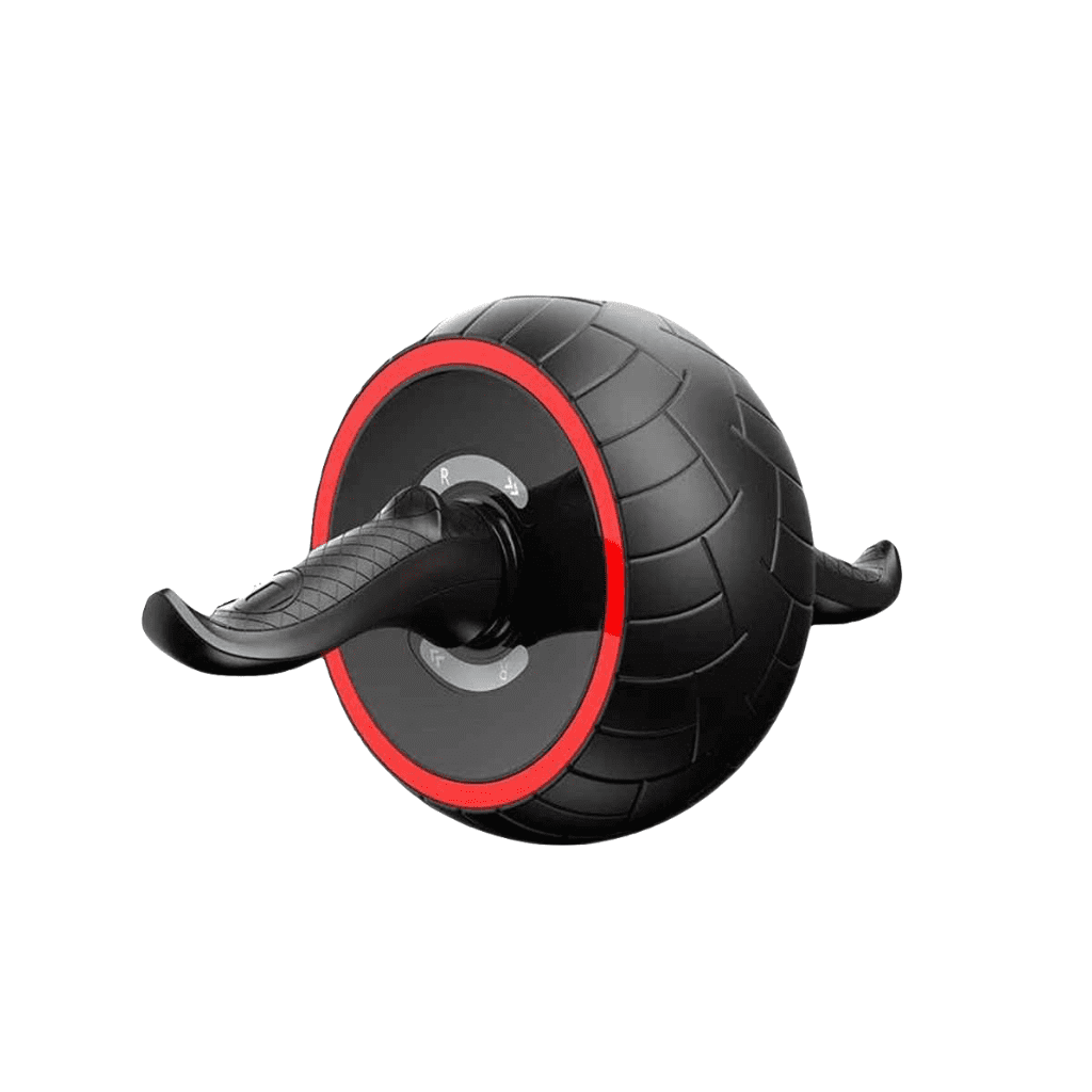 Ab Carver Roller Fitness for Core Workouts - Ab Carver Pro Roller - Black & Red
