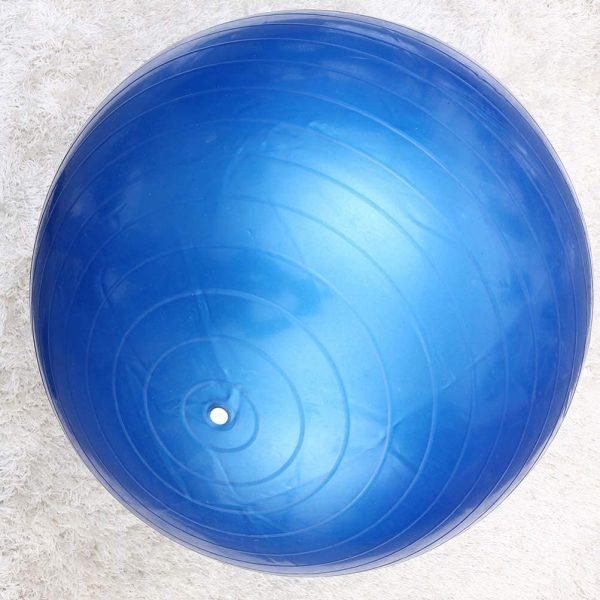 كرة يوجا مطاطية - كرة الجيم واليوغا 85 سم - كرة توازن - ازرق