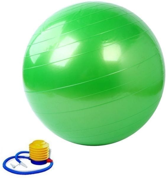 Big Exercise Ball - Gym Ball 85 cm - Green
