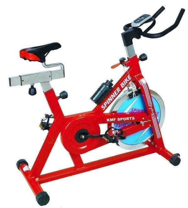 عجلة التمارين الرياضية - عجلة سبيننج الرياضية - دراجة التمارين الثابتة - اقصى وزن للمستخدم 200 كجم - موديل KMF-132