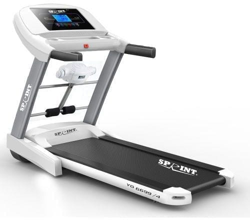 Sprint Sports DC Motorized Treadmill With Luxuries - Max User Weight 120 Kg - Model YG6699/4