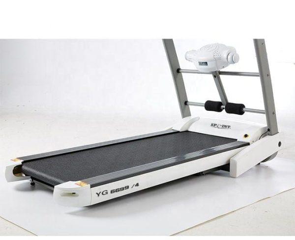 مشاية رياضية من سبرنت سبورتس بالكماليات - موديل YG6699/4 - DC , اقصى وزن للمستخدم 120 كجم