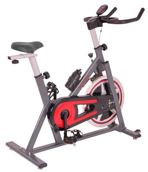 دراجة التمارين الثابتة للتخسيس وحرق الدهون العجلة الثابتة للتمارين الرياضية -اقصى وزن للمستخدم 150 كجم - موديل KMF-128