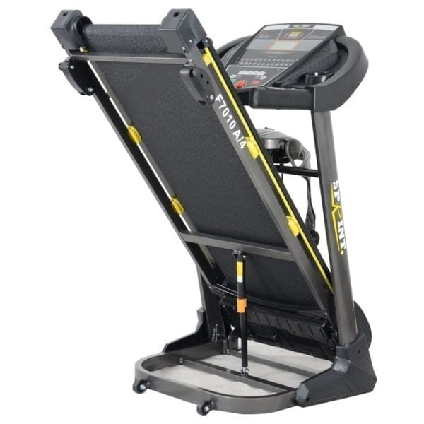 Sprint Sports AC Motorized Treadmill - 130 Kg - Grey -F7010A/4 - Equipped With a Abs Bench & a Massage Machine & Twist Device