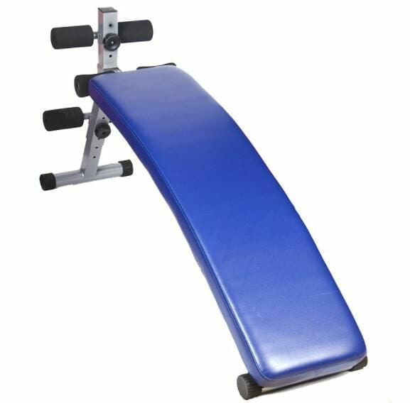 Ab bench - Bench for Abdominal exercises -Max User Wight 120 KG - Blue