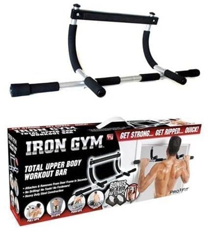 Multi-Functional Pull up Bar - Iron Gym Pull up Bar - Door Bar For Exercise - Max User Wight 150 kg