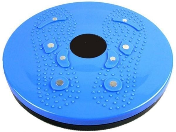 Twist Disc For Slimming - Waist Twist Disc To Sculpt The Waist - Twist Disk For Fitness - Blue