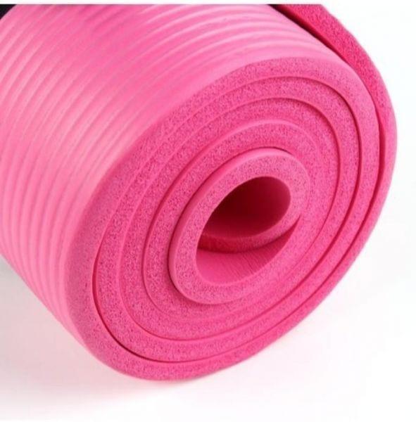 yoga Mat - Exercise Rug 10 mm - Exercise mat - Pink