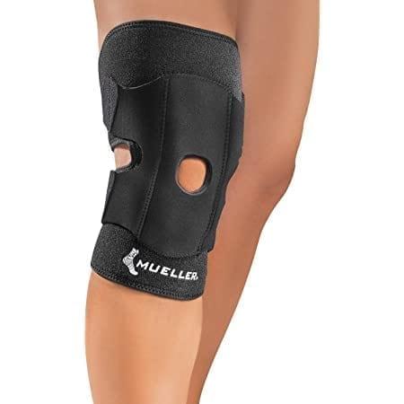 Mueller Adjustable knee support - Knee Brace For Knee Pain - Black - One Size