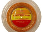 Barrage Pro Squash String, 18 Gauge, 360' Reel - Harrow - Yellow & Red