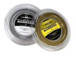 Barrage Squash String, 17 Gauge, 360' Reel - Harrow -White & Black