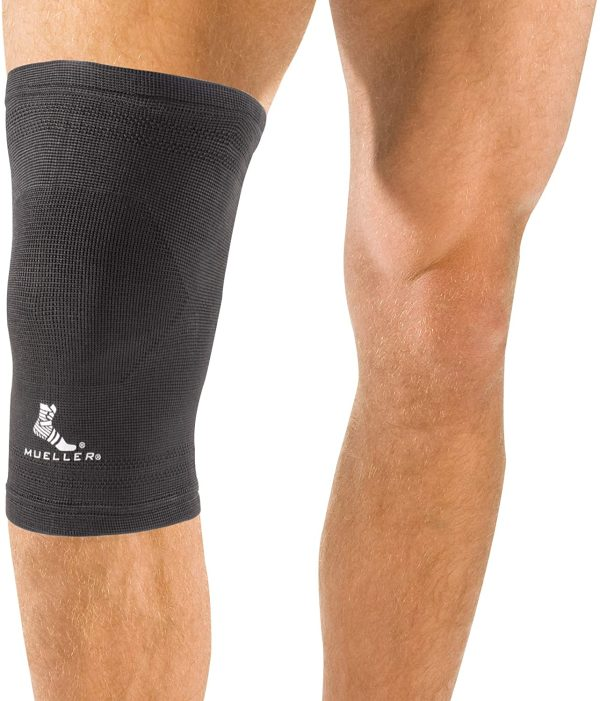 Mueller Elastic Knee Support - Knee Brace For Kenee Pain - Black