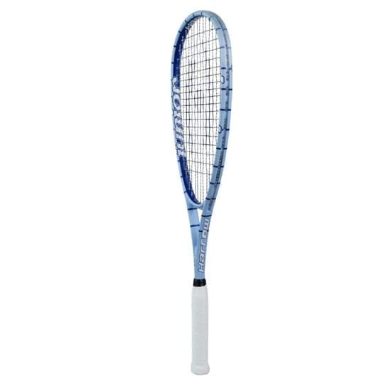 Junior Squash Racquet Harrow - Half Cover - Blue