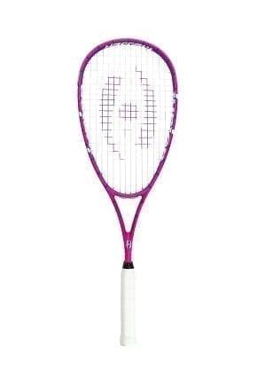 Harrow Junior Squash Racquet - Half Cover - Pink & Purple