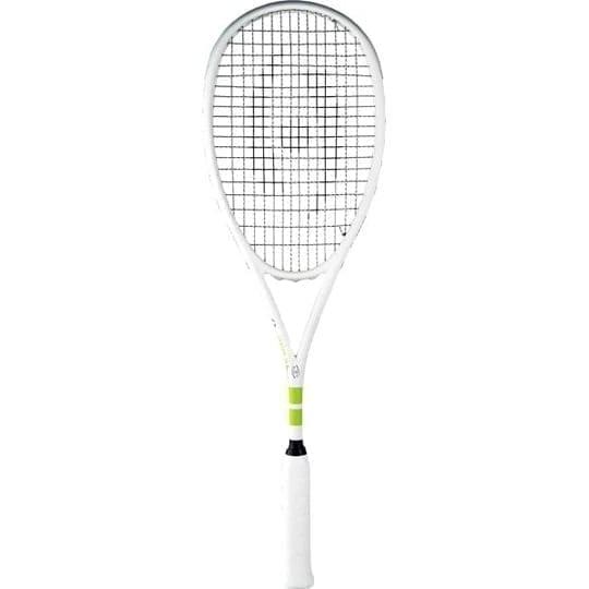 Raneem El Welily Signature Vapor Squash Racquet - Squash Harrow - White & Lime