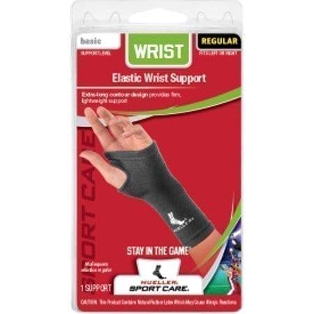 Mueller Elastic Wrist Support - Wrist Support for Wrist Pain - Black