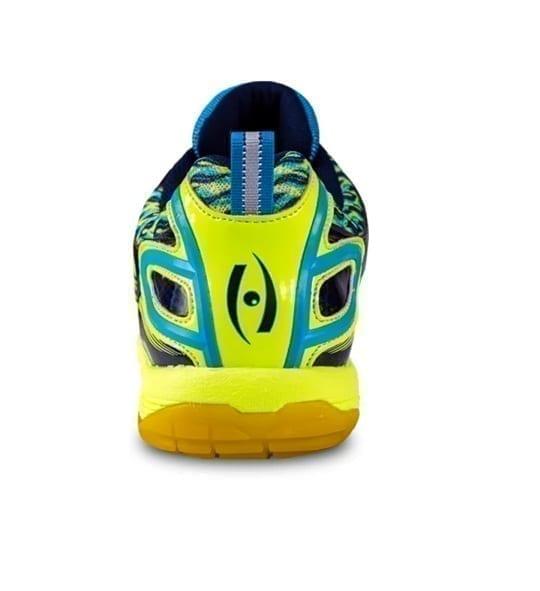 Typhoon Indoor Court Shoes Squash - Harrow - Navy & Lime