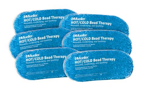 كمادة جل للعلاج الطبيعي من مولر - عبوة كمادات جل دافئة  باردة - متعدد الالوان