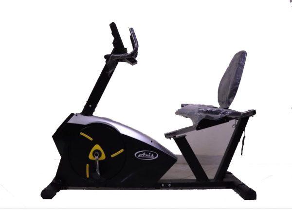اكسيس عجلة رياضية ثابتة AX12 - عجلة ريلاكس الرياضية بمقاومة ماجنتك - اسود - اقصى وزن للمستخدم 180 كجم