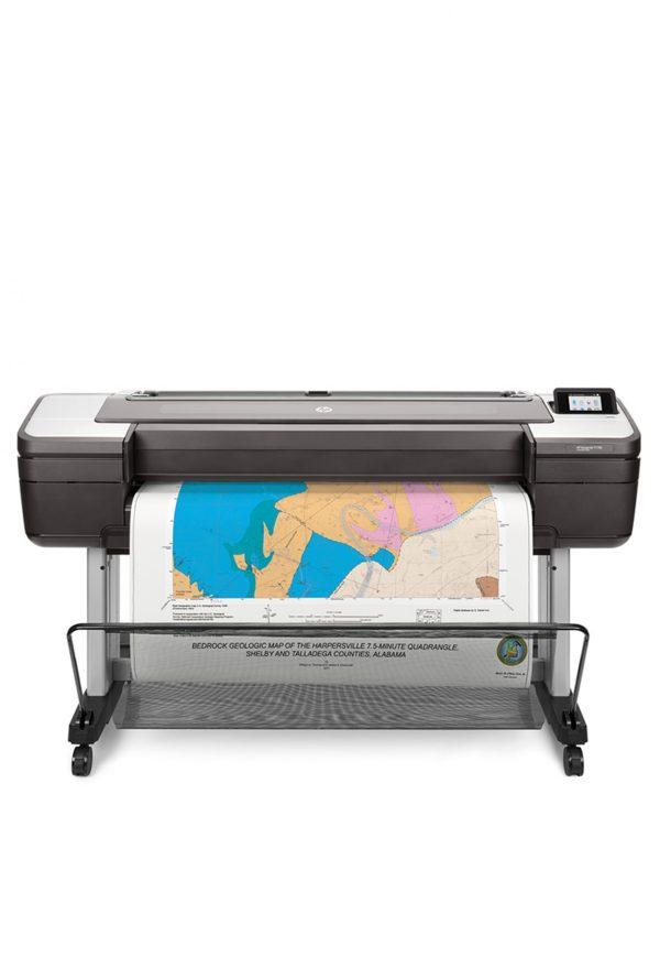 HP T1700 44-in Map Printer - DesignJet Printer - Model W6B55A#B1K