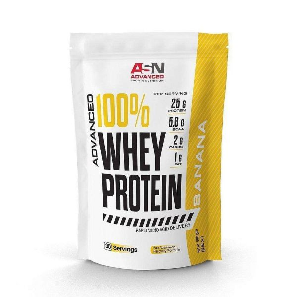 Whey Protein ASN Advanced 30 Servings - Whey Protein 990 g - Banana
