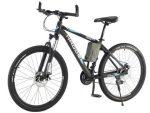 Hador Stree 26 Mountain Bicycle - Bicycle 21 Speeds, Black & Blue - NEW 2021