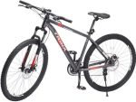Trinx Sports Bike with 21 Speeds - Sports Bike 29 Inches - Red and Grey - M 136 pro