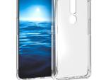 Oppo F11 Pro Clear Case Anti Knock Edge Transparent Soft Gel TPU Back Cover