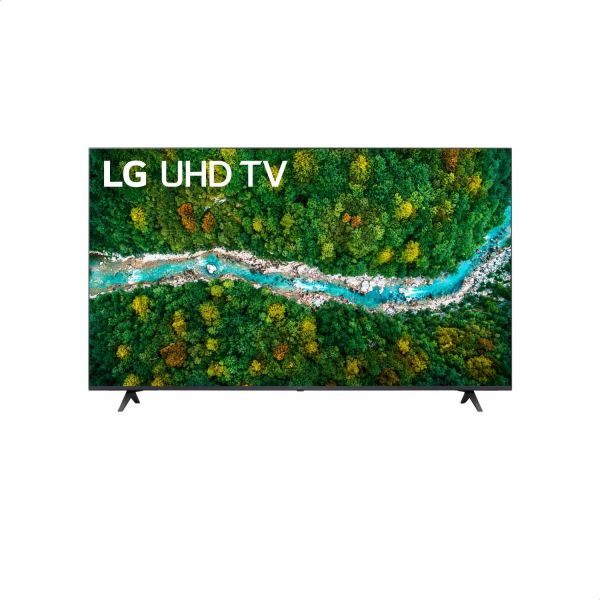 LG 55 inches Smart TV - UHD 4k Smart TV , Active HDR, WebOS Operating System, ThinQ AI - 55UP7750PVB