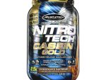 Protein Nitrotech Casein Gold 1.31 kg MuscleTech - NitroTech 36 Servings - Chocolate